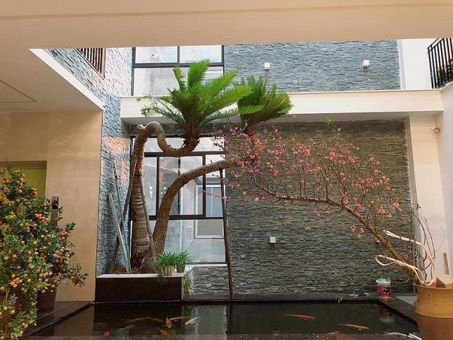 Cơ ngơi xanh mát như resort giữa quận trung tâm của vợ chồng ca sĩ Trọng Tấn - 12