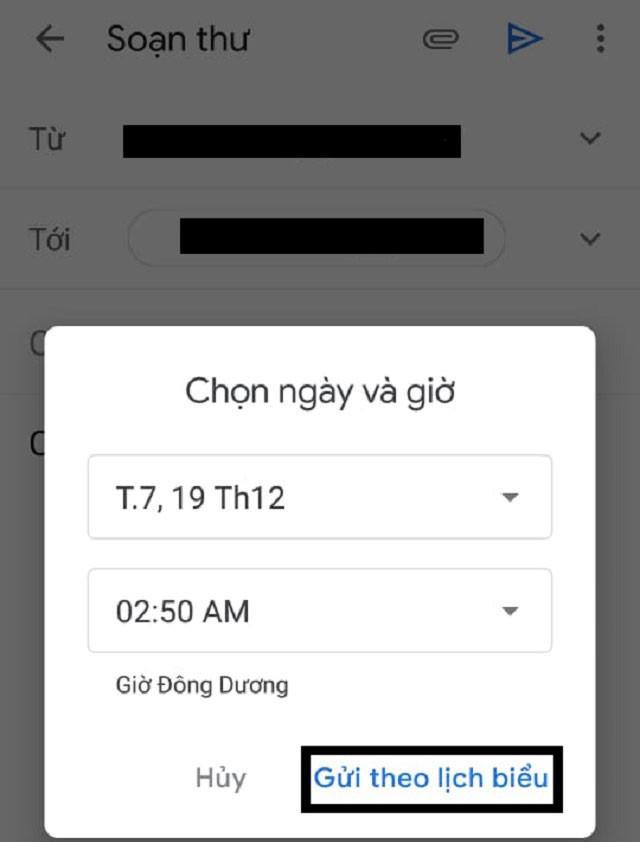 Thủ thuật hẹn giờ gửi email gmail tự động trên smartphone, tablet - 6