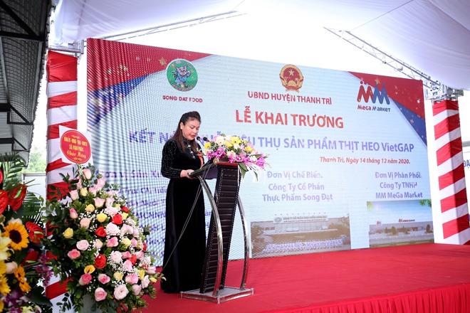 MM Mega Market khai trương trạm trung chuyển thịt heo đầu tiên tại miền Bắc - 1