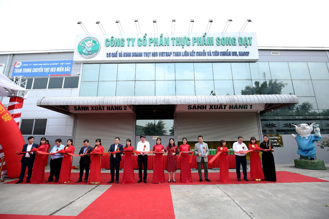 MM Mega Market khai trương trạm trung chuyển thịt heo đầu tiên tại miền Bắc - 2