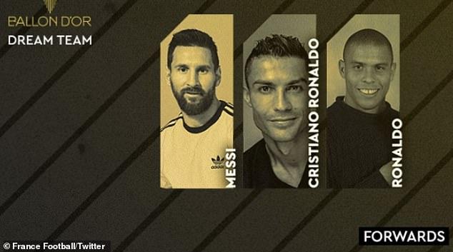 """Siêu đội hình """"Quả bóng Vàng"""" trong mơ: Messi - Ronaldo sánh vai các huyền thoại - 3"""