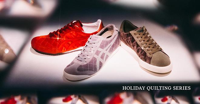 Onitsuka Tiger ra mắt dòng giày vải chần bông chào mừng mùa lễ hội - 1
