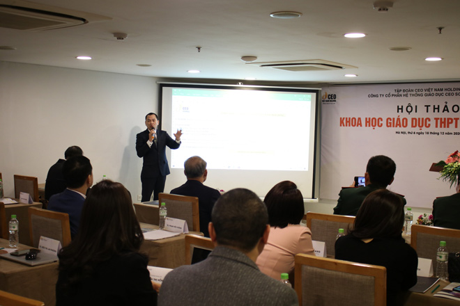 Tập đoàn CEO Việt Nam Holding phát triển Hệ thống giáo dục THPT CEO School - 1