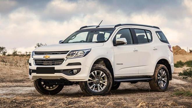 Đại lý xả hàng Chevrolet Trailblazer, giảm giá hết hồn gần 300 triệu đồng