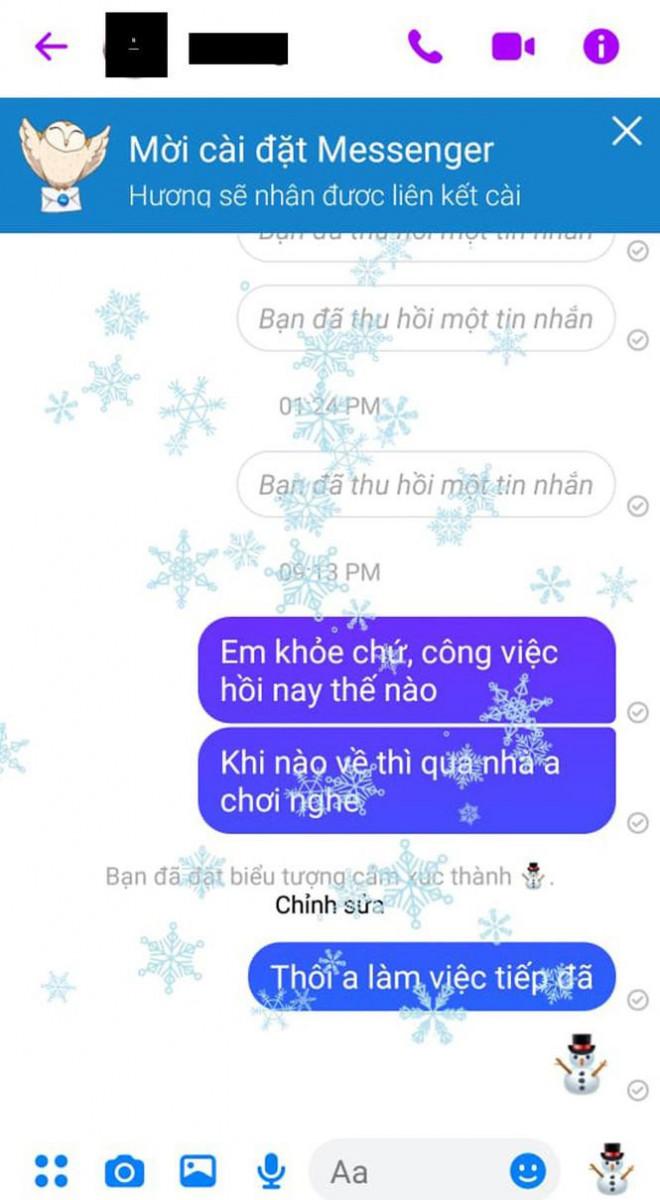 Hướng dẫn cách mang không khí Giáng sinh lên Facebook Messenger - 6