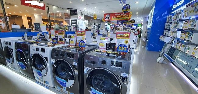 """Hàng điện máy giảm """"sốc"""" tới 50%, bất ngờ máy giặt lồng ngang chỉ từ 6 triệu đồng/chiếc - 3"""