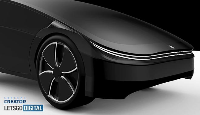 Ngỡ ngàng vẻ đẹp thiết kế Apple Car - 3
