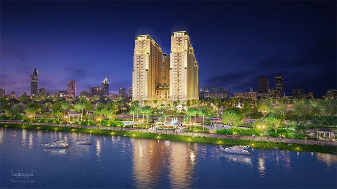 Dream Home Riverside ra mắt lô thương mại dịch vụ ngay khu đô thị hiện hữu sầm uất Q.8 - 1