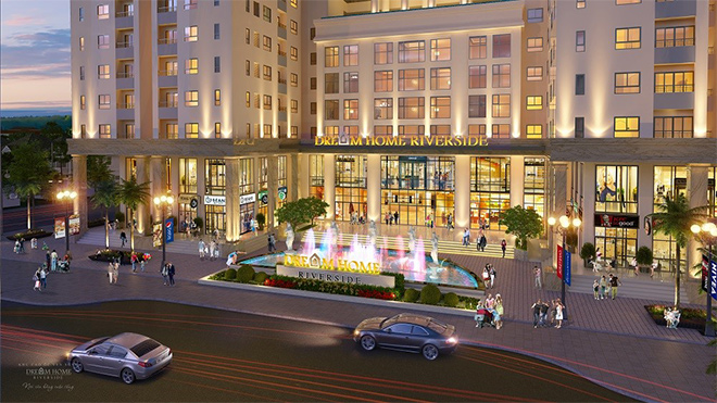 Dream Home Riverside ra mắt lô thương mại dịch vụ ngay khu đô thị hiện hữu sầm uất Q.8 - 2