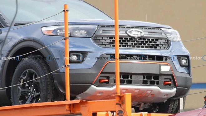 Ford Explorer phiên bản off-road cực chất lộ diện chạy thử - 3