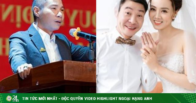 Phó Giám đốc Nhà hát Kịch Hà Nội kết hôn lần 3 cùng nhà báo kém 15 tuổi