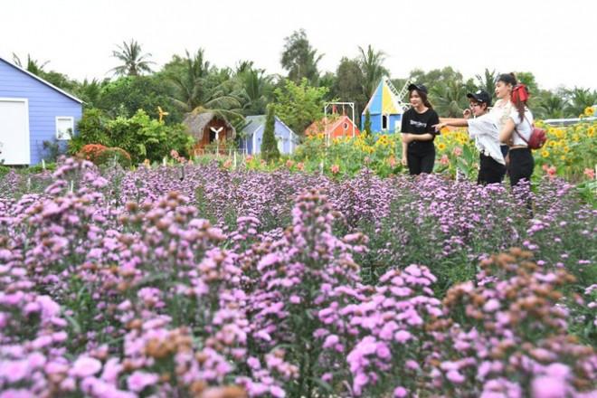 """Địa điểm check-in Tết Dương lịch 2021: """"Vườn hoa Đà Lạt"""" giữa lòng Sài Gòn hút giới trẻ - 1"""