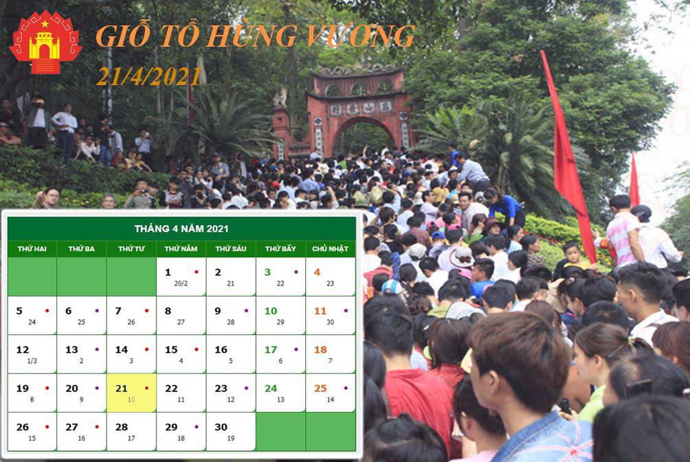 Lịch nghỉ chi tiết các ngày lễ, Tết trong năm 2021 - hình ảnh 3