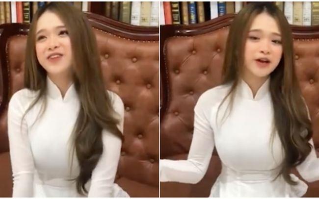 Linh Ka thu hút sự chú ý vào vòng 1 vì mặc váy lụa không nội y - hình ảnh 6