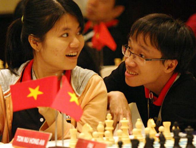 """Những cặp """"trai tài gái sắc"""" nổi tiếng của làng thể thao Việt Nam - 5"""