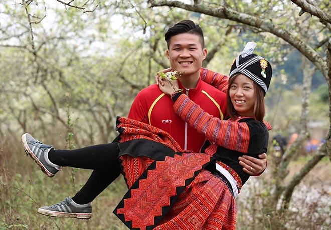 """Những cặp """"trai tài gái sắc"""" nổi tiếng của làng thể thao Việt Nam - 6"""
