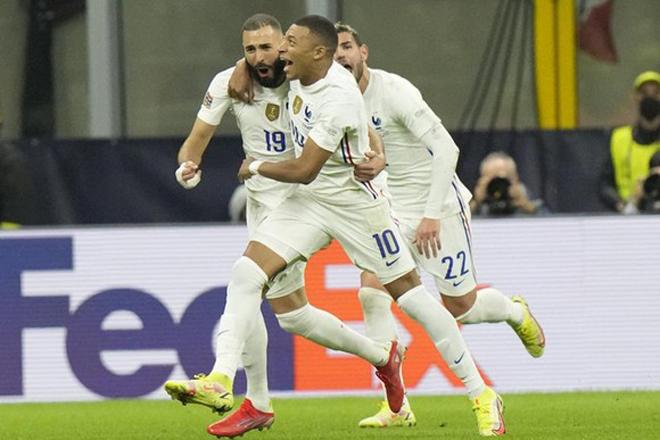 """Mbappe & Benzema """"song kiếm hợp bích"""" ở ĐT Pháp khiến PSG lo sốt vó - 1"""