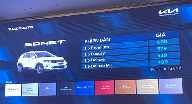 KIA Sonet có giá từ 499 triệu đồng, bắt đầu nhận đặt hàng - 6