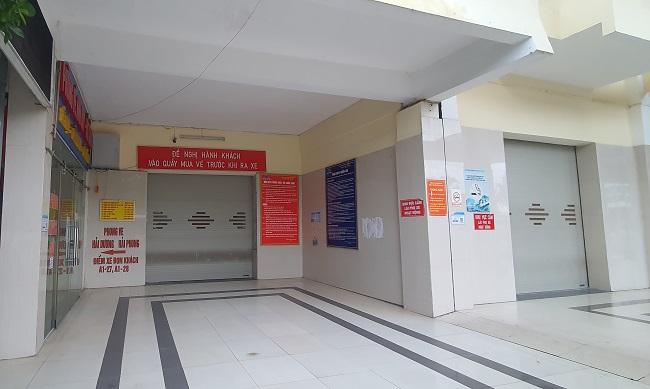 Bất ngờ hình ảnh bến xe khách ở Hà Nội sau khi vận tải hành khách được mở lại - 4